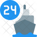 Ship Hours Icon