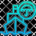 Ship Insurance Icon