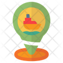 Pin Location Ship Icon