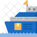 Insurance Transportation Ship Icon