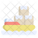 Ship Order Shipping Delivery Icon