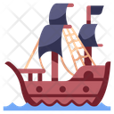 Ship Pirate Icon
