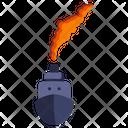 Ship Pollution Icon