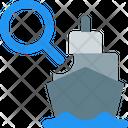 Ship Search Icon