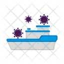 Spread Covid 19 Virus Icon