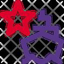 Ship Star Icon