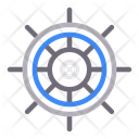 Wheel Stair Boat Icon