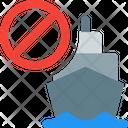 Ship Stop Icon
