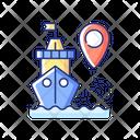 Ship Tracking Icon