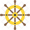 Ship Steering Captain Icon