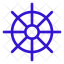 Nautical Boat Sailor Icon