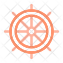 Ship Wheel Icon