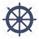 Pirates Sailor Ship Wheel Icon