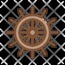Ship Nautical Wheel Icon