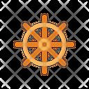 Ship Sailing Captain Icon