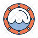 Ship Window Porthole Ship Hole Icon
