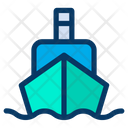 Ship Transportation Container Icon