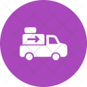 Shipment Delivery Truck Icon