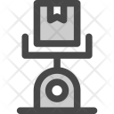 Shipment Package Weight Icon