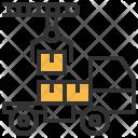 Shipment Load Crane Icon