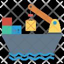 Boat Ship Sailing Icon