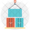 Shipment Consignment Containers Icon