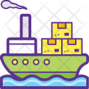 Marientime Shipment Sea Icon