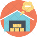 Shipment Warehouse Icon