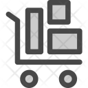 Shipments Trolly Packages Icon