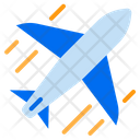 Shipped By Air Airplane Delivery Air Logistics Icon