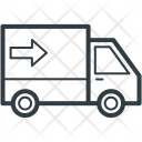 Shipping Van Delivery Icon
