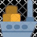 Ship Delivery Sea Icon