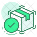 Shipping Done Box Icon