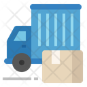 Final Manufacturing Shipping Delivery Icon