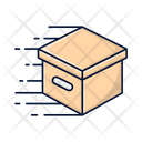 Shipping Box Delivery Icon