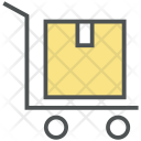 Shipping Hand Trolley Icon