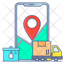 Shipping Address Shipping Location Delivery Address Icon