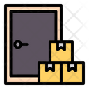 Door Shipping Doorstep Icon