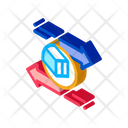 Shipping Arrival Business Icon