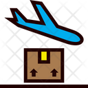 Shipping Airplane Order Icon