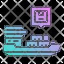 Shipping Ship Ferry Icon