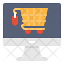Shipping cart Icon