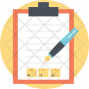 Shipping Checklist Icon