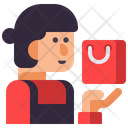 Mclerk Shipping Clerk Shopping Delivery Icon
