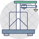 Shipping Crane Logistics Icon