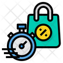 Shipping Deadline Shipping Stopwatch Icon