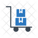 Shipping Dolly Parcel Icon