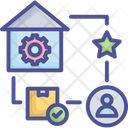 Business Delivery Feedback Icon