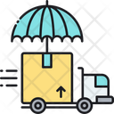 Shipping Insurance Delivery Insurance Logistics Insurance Icon