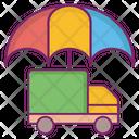 Protected Umbrella Vehicle Icon